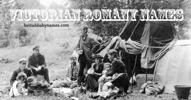 Victorian Romany Names