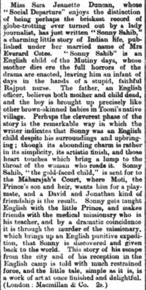 Dundee Advertiser - Thursday 29 November 1894