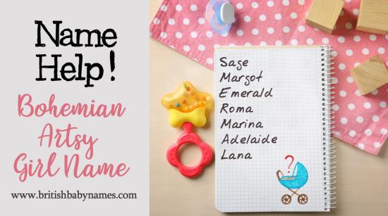 Name Help - Bohemian Girls Name