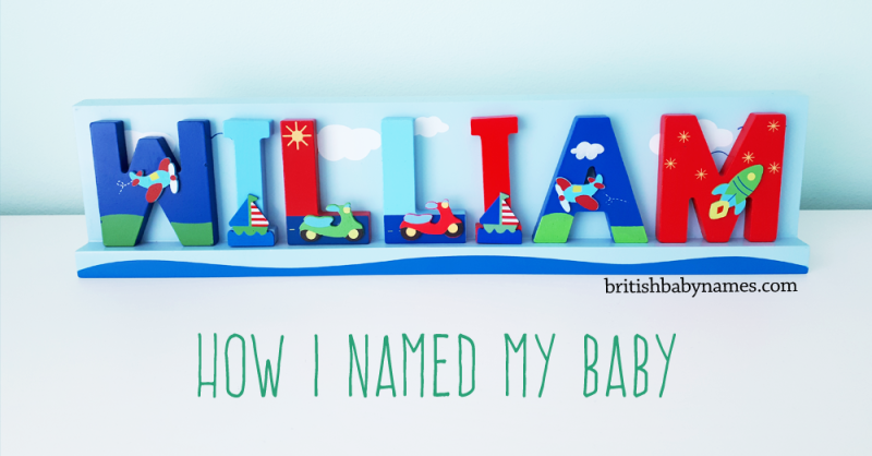 How I Named My Baby
