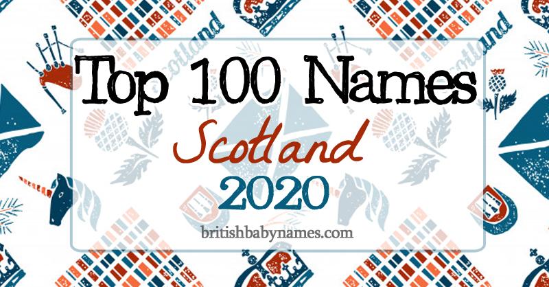 Top 100 Names Scotland 2020